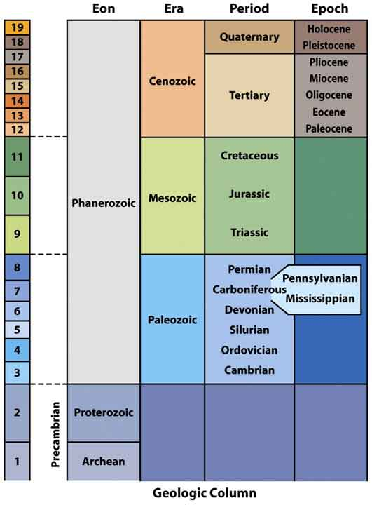 Geologic Time Scale (2010)