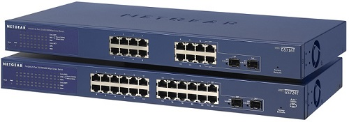 Switches with different number of ports