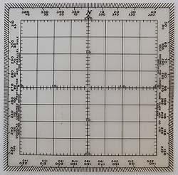 Navigational Protractor