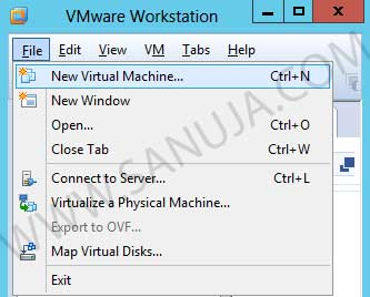 Adding a new virtual machine.