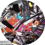 Subophitic Texture - XPL