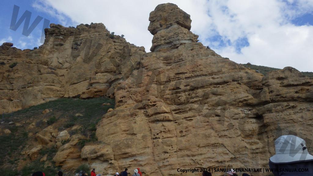 Fluvial deposits - Hoodoos