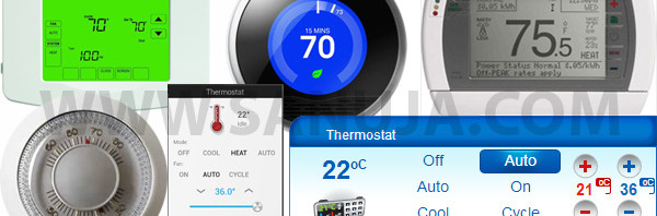 Choosing a thermostat