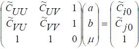 geostat_eqsh_standard_ord_cokrig_matrix
